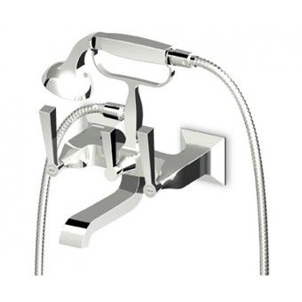 Zucchetti Bellagio Exposed Wall Mounted Bath Shower Mixer