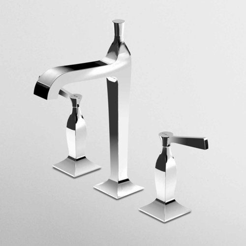 Zucchetti Bellagio Tall 3 Hole Basin Mixer High Spout ZB1426