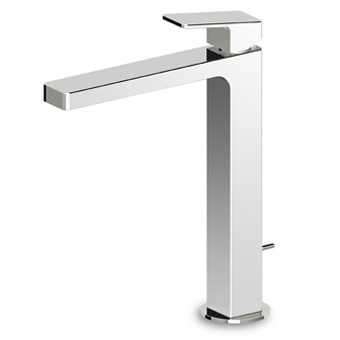 Zucchetti Jingle Tall Basin Mixer Tap No waste ZIN694