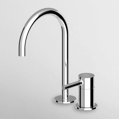 Zucchetti Pan 2 Hole Single Lever Basin Mixer ZP6223