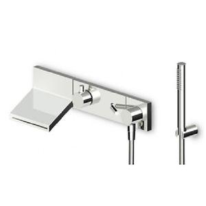 Zucchetti Pan+ Bath Shower Mixer Built In Single Lever