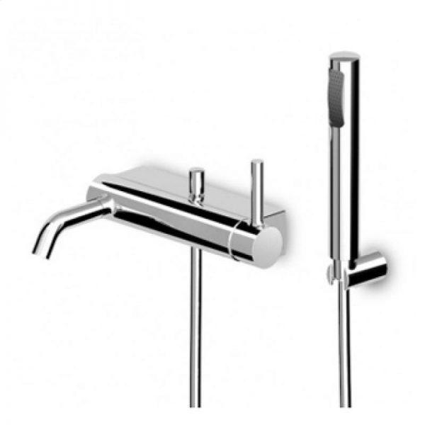 Zucchetti Pan Exposed Single Lever Bath Shower Mixer