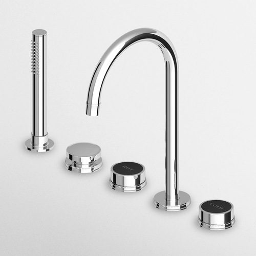 Zucchetti Savoir 5 Hole Bath Shower Mixer