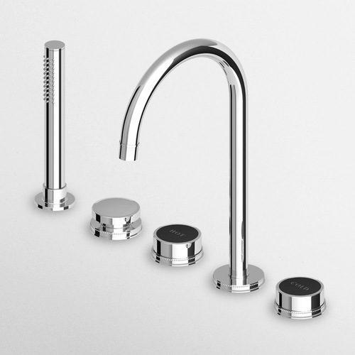 Zucchetti Savoir 5 Tap Hole Bath Shower Mixer