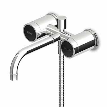 Zucchetti Savoir Bath Shower Mixer Diverter Handset & Hose
