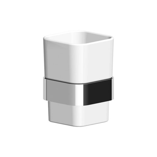 Zucchetti Soft Wall Mounted Tumbler Holder ZAC713