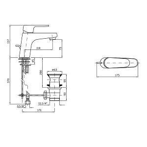 Zucchetti Sun Single Lever Basin Mixer ZSN599