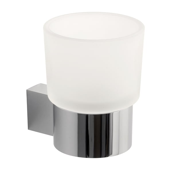 Vado Infinity frosted glass tumbler holder INF-183-C/P