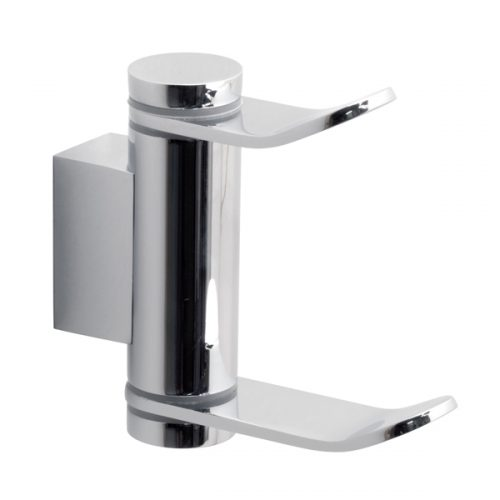 Vado Infinity double swivel robe hook INF-186-C/P