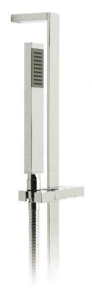 Vado instinct single function slide rail shower kit INS-SFSRK-C/P