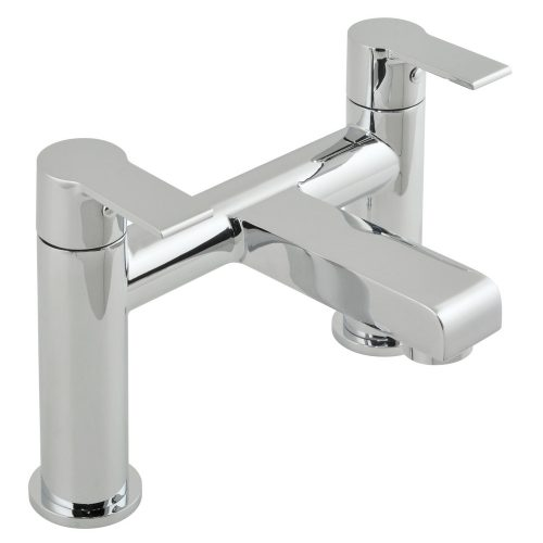 Vado Ion 2 hole bath filler deck mounted ION-137-C/P