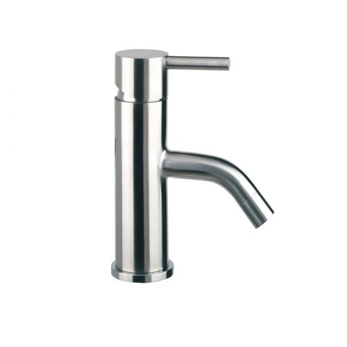 Just Taps Plus Inox Stainless Steel Mini Bathroom Basin Tap