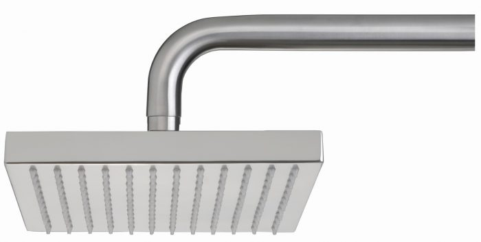 Just Taps Plus Inox Stainless Steel Square Shower Head ONLY
