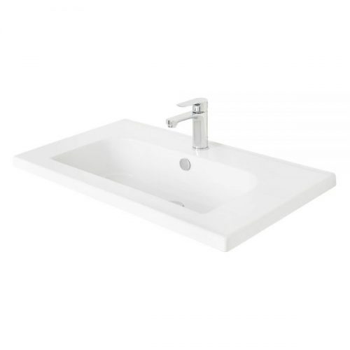 Millers Ceramic White 810mm Basin Only 121W1