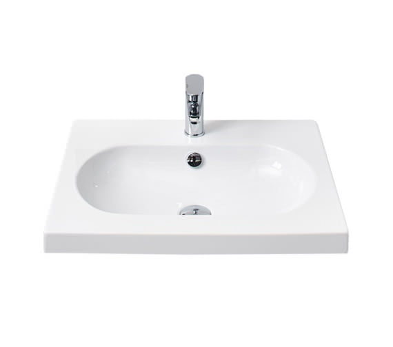 Millers Oval White Ceramic Basin 600Mm 124W1