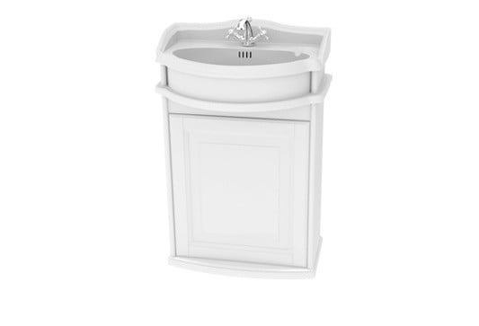 Millers Traditional Right Hung 50cm Wall Hung Vanity Unit
