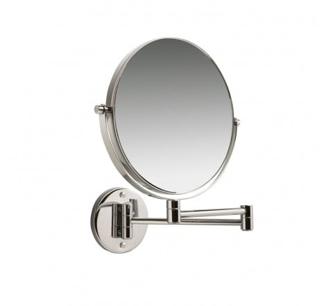 MIllers Cube Wall Mounted Mirror Chrome
