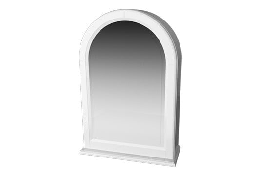 Millers Traditional Left Hand Door Arched Frame Cabinet