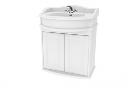 Millers Traditional 65cm Double Door Vanity Unit With Plinth