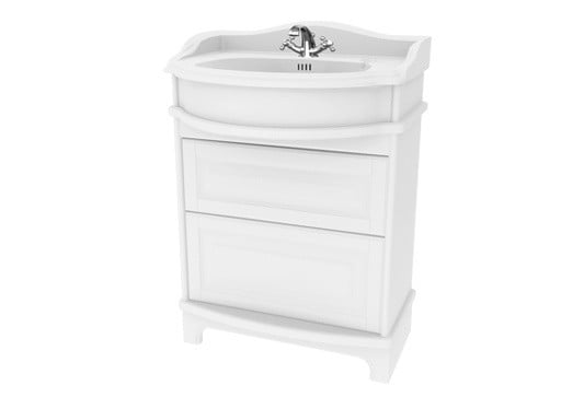 Millers Traditional 65cm Drawer Vanity Unit With Plinth