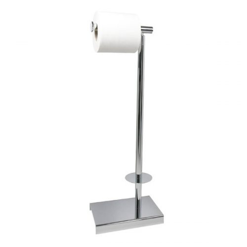 Miller Classic Chrome Freestanding Toilet Roll Holder