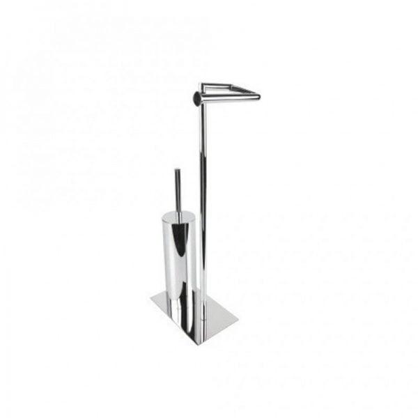 Miller Classic Toilet Roll Holder And Toilet Brush Set