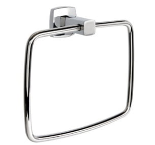 Millers Denver Chrome Round Wall Mounted Towel Ring