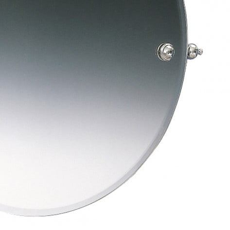 Miller Stockholm Chrome Swivel 450mm Mirror