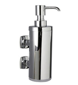 Buy Millers Denver Chrome Wall Mounted Soap Dispenser Bottle