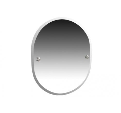Miller Richmond Chrome Bevelled Mirror Wall Mounted