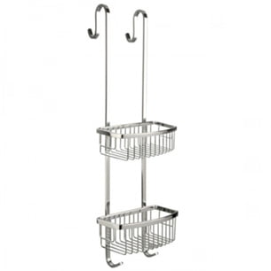 Miller Classic Chrome 2 Tier 700mm Shower Caddy