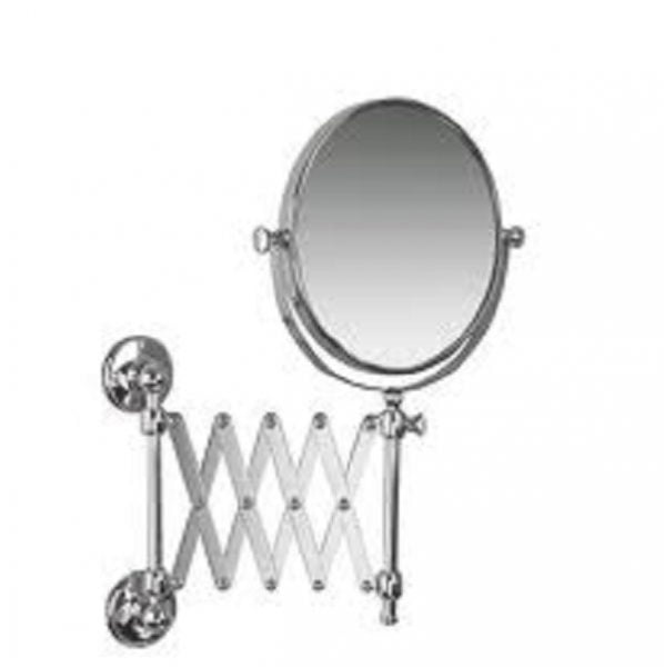 Buy Online Miller Stockholm Chrome Extending Magnifying Mirror on extendable makeup bathroom mirror, extendable shaving mirror, extending makeup mirror,