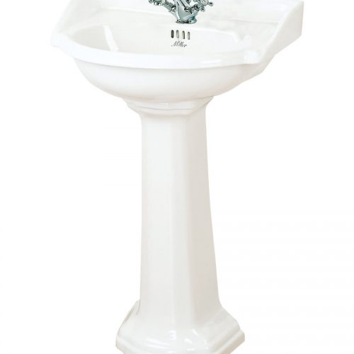 Millers Traditional White Ceramic 535mm Basin
