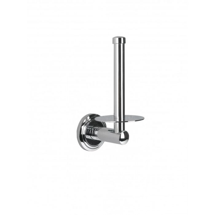 Miller Oslo Chrome Wall Mounted Spare Toilet Roll Holder