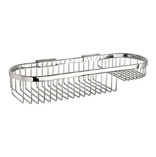 Miller Classic Chrome Oval 400mm Shower Basket
