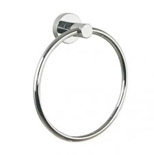 Millers Bond Chrome Open Round Towel Ring