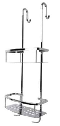 Miller Classic Chrome Plated Two Tier Shower Caddy
