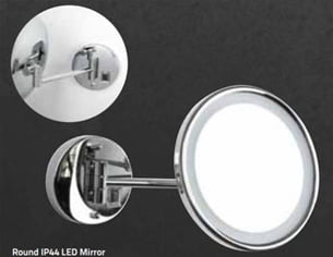 MIllers Classic Round Led Mirror Ip44 Bright White-0