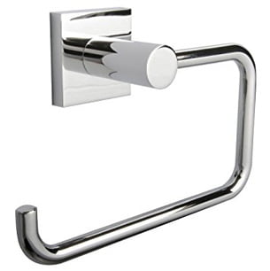 MIllers Atlanta Chrome Plated Wall Mounted Toilet Roll Holder-0
