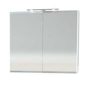 Millers London Double Door 60cm White Bathroom Cabinet