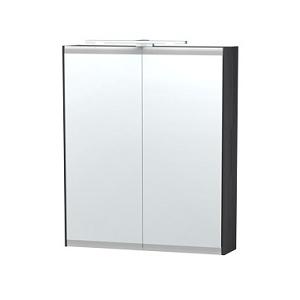 Millers London Black Oak 60cm Double Bathroom Cabinet