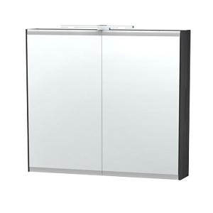 Millers London Black Oak 80cm Double Bathroom Cabinet