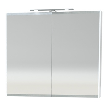 Millers London White 80cm Double Bathroom Cabinet