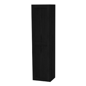 Millers London Left Hand Black Oak Tall Cabinet