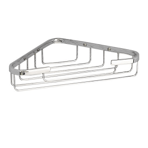 Miller Classic Chrome Plated 250mm Corner Basket