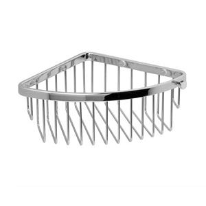 Miller Classic Polished Nickel Corner Mounted Basket