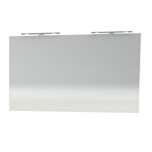 Millers New York 120cm White Bathroom Mirror
