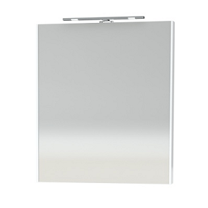 Miller New York 60cm White Bathroom Mirror