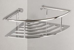 Miller Classic Chrome Plated Corner Shower Shelf