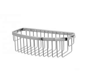 Miller Classic Chrome D-Shaped Shower Soap Basket